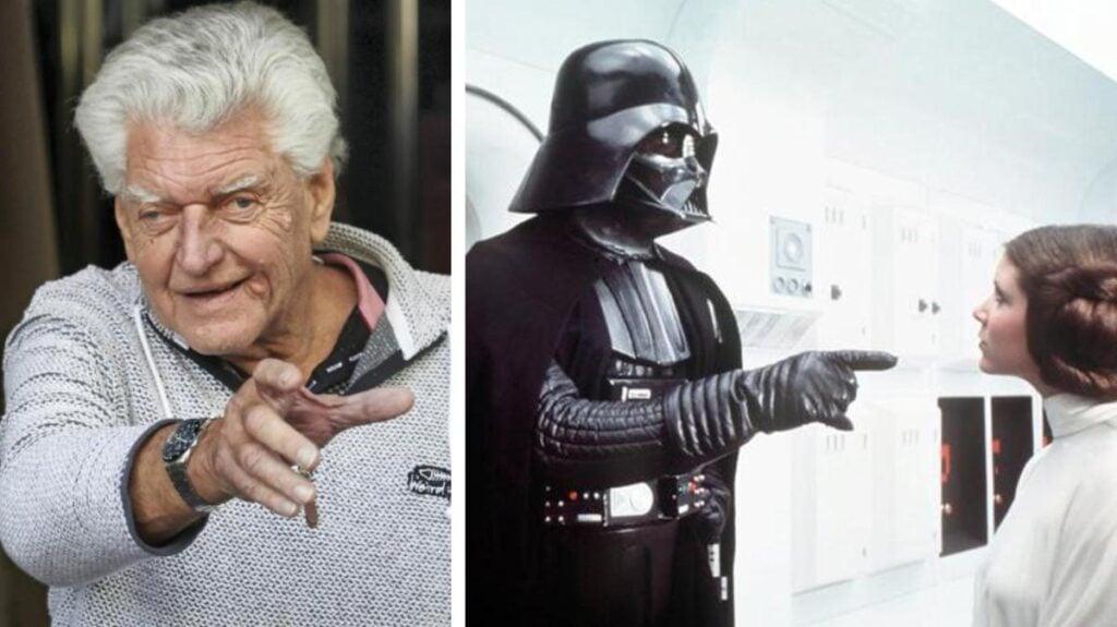 Darth Vader morto l'attore che lo interpretava.