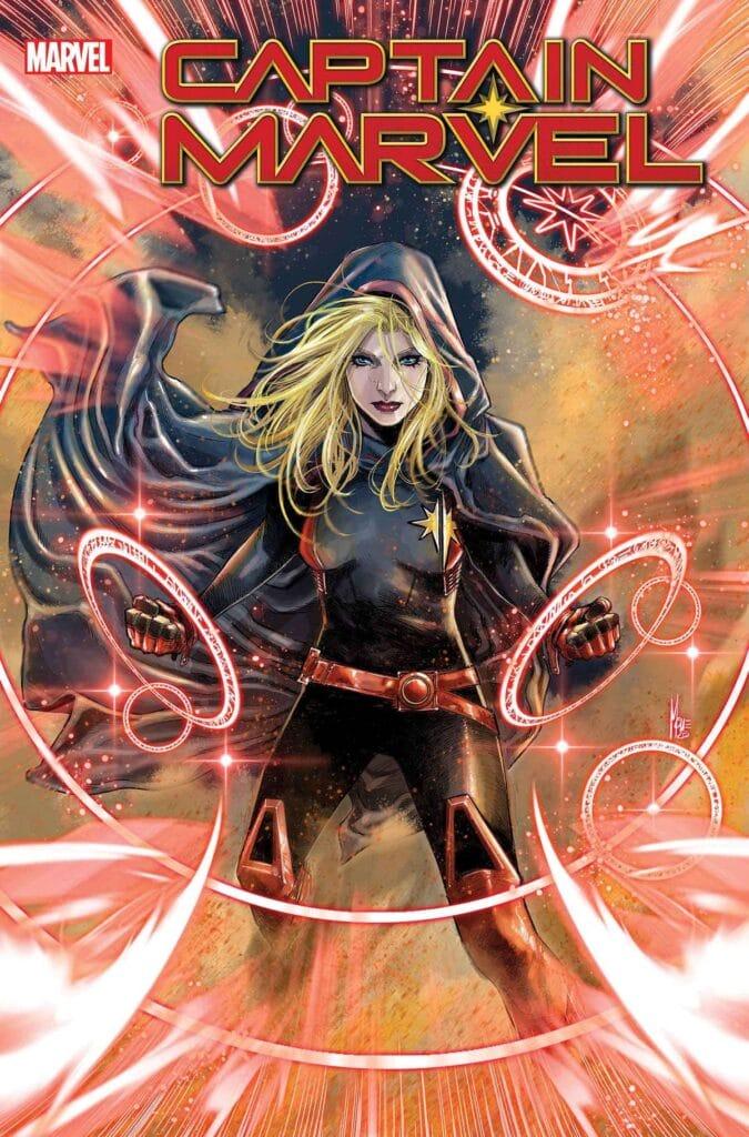 Captain Marvel nuovo look.