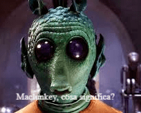 """""""Maclunkey"""", che cosa significa questa parola"""