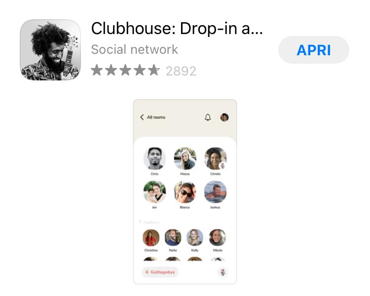 Clubhouse il nuovo social network, cos'è e come funziona