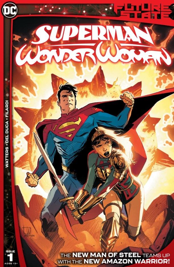 Yara Flor e Jon Kent fanno squadra in Future State: Superman/Wonder Woman #1