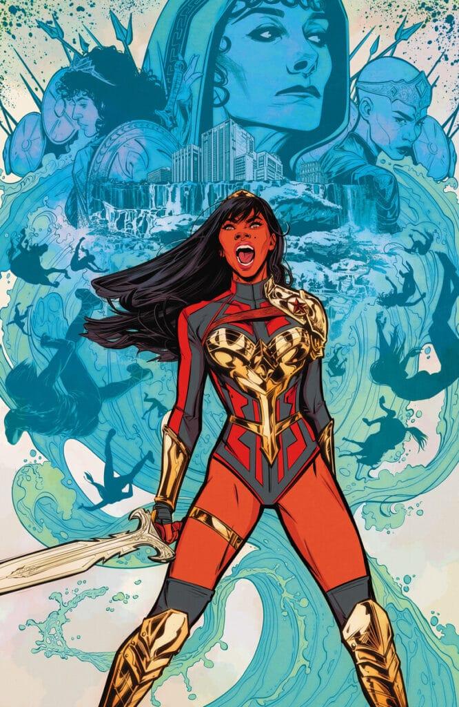 Wonder Girl #1 annunciata la data del lancio della serie a fumetti.