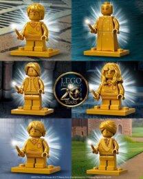 LEGO minifigure di Harry Potter per il 20°anniversario