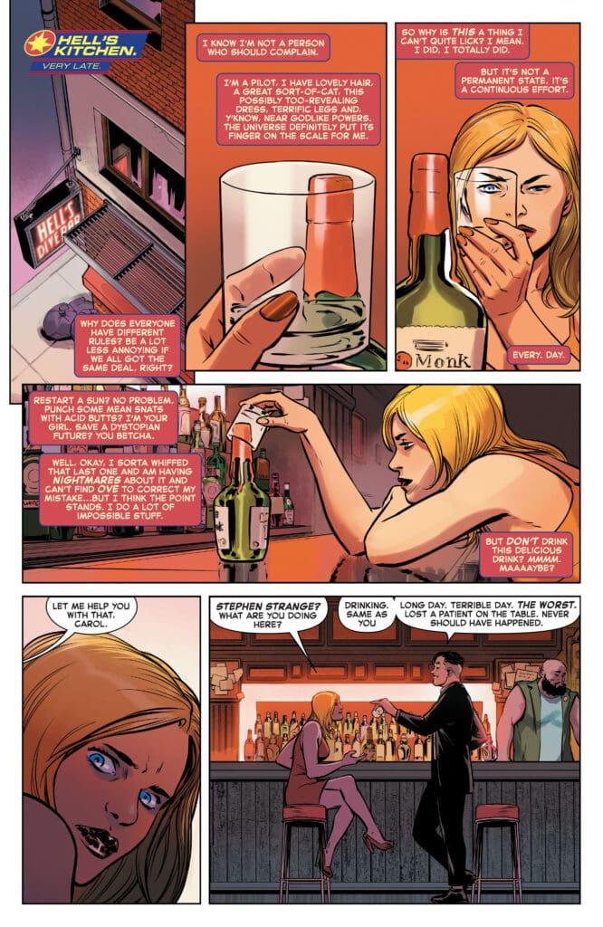 Captain Marvel e il cambio del costume