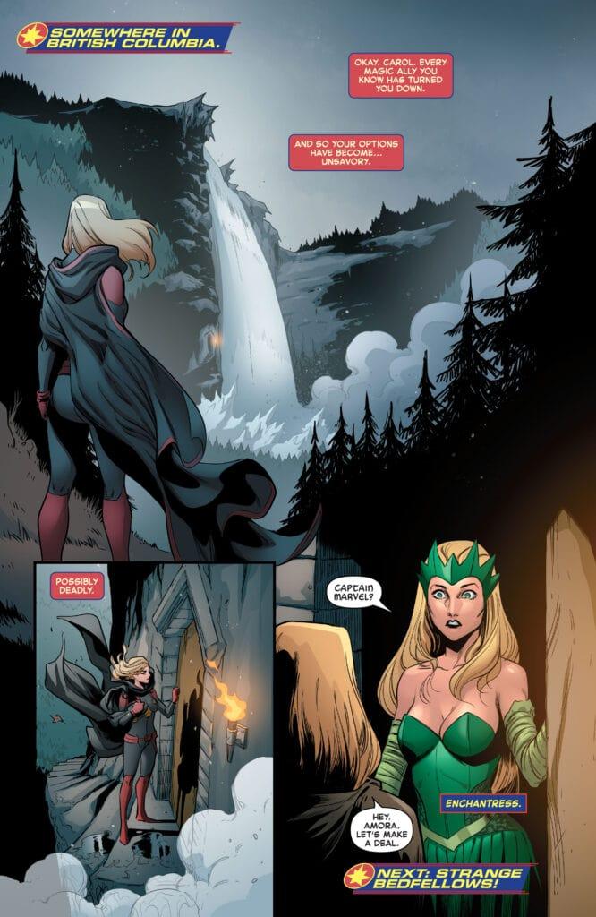 Captain Marvel il nuovo costume come simbolo totemico delle forze oscure con cui si alleerà