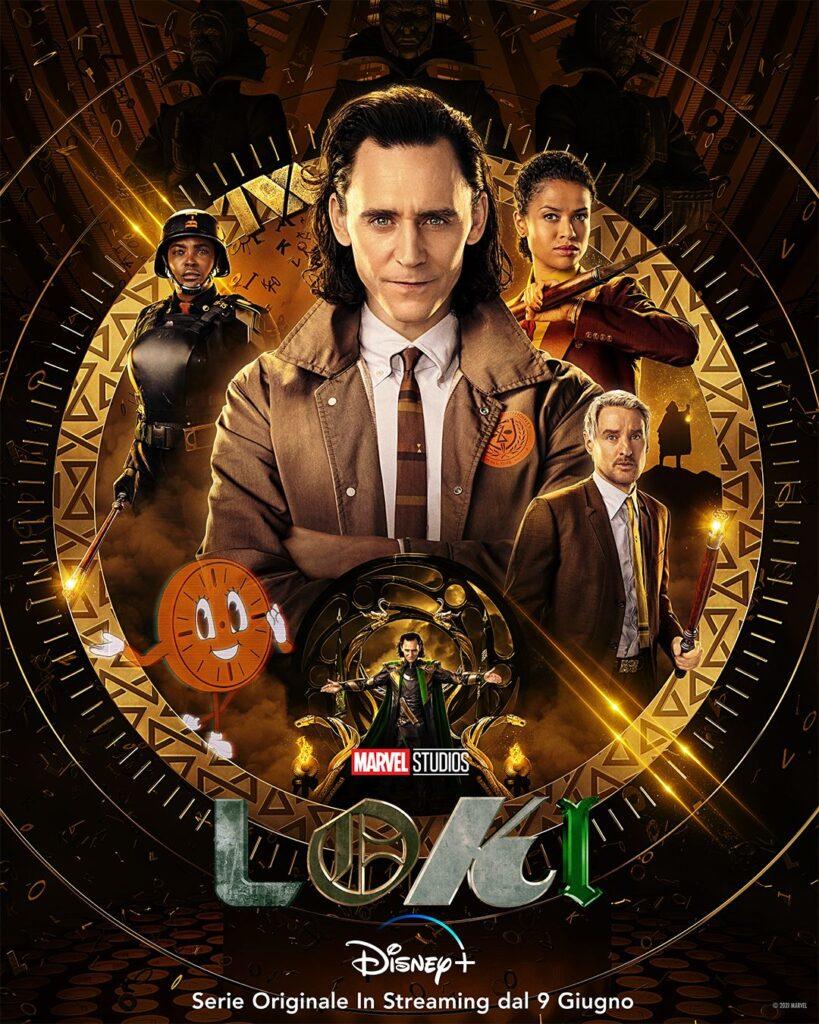 Gadget in occasione dell'uscita della serie tv Loki