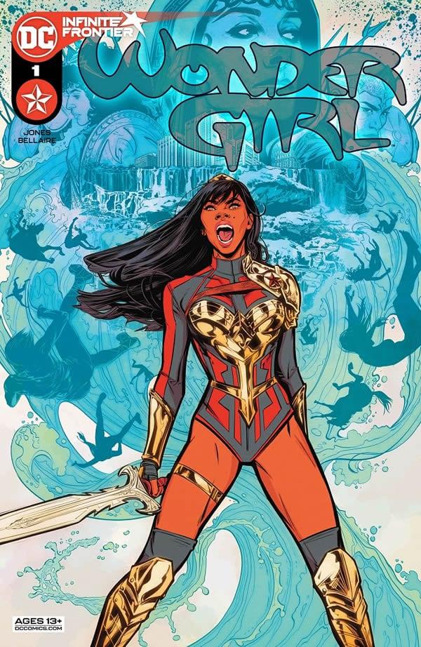 Wonder Girl #1 il primo numero della nuova Wonder Girl è disponibile negli Stati Uniti