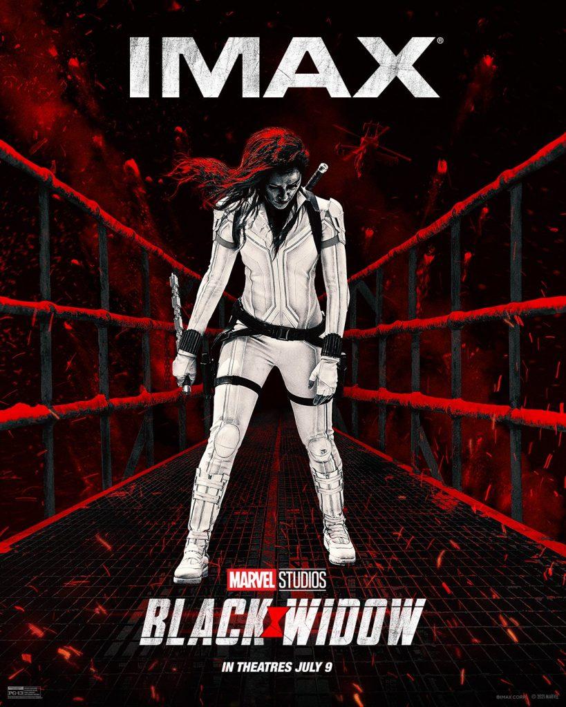 Black Widow al cinema con 22 minuti di scene Imax