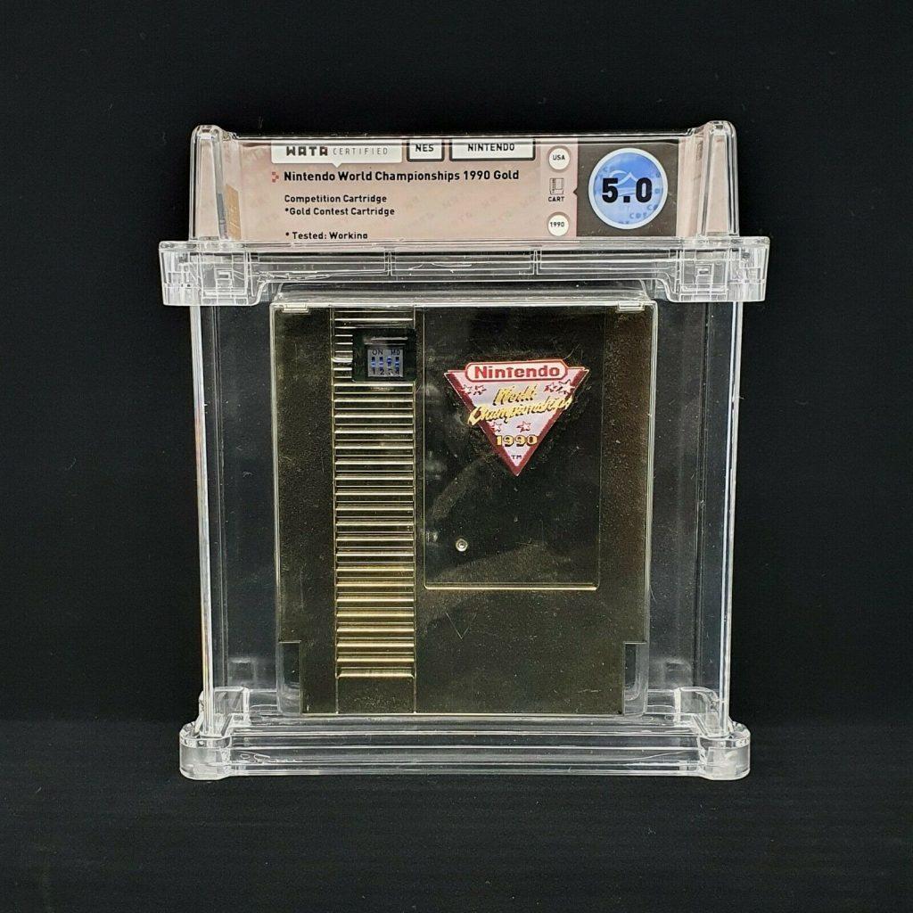 Cartuccia d'oro Nintendo World Championships