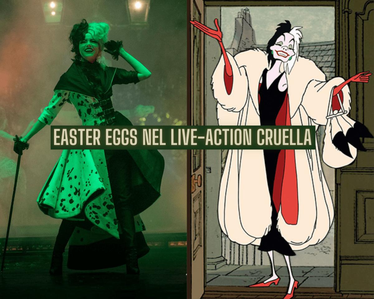 Easter eggs Cruella