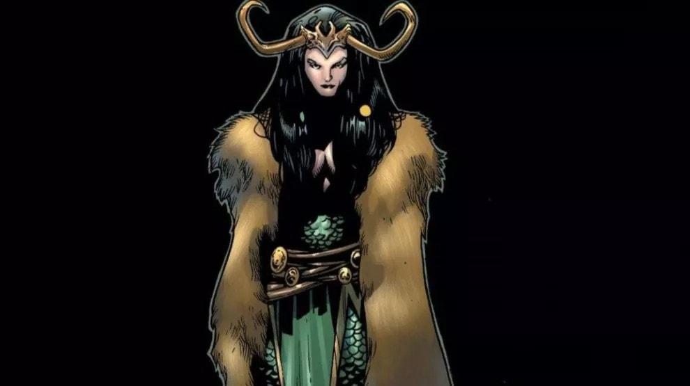 Lady Loki ha i capelli neri nei fumetti, la Variante della serie è bionda