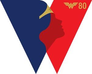 Logo per l'80° anniversario di Wonder Woman, in occasione la DC lancia una serie di fumetti su Ippolita