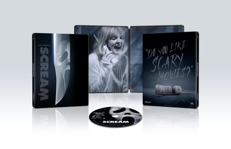 Scream 4k Blu-ray HD